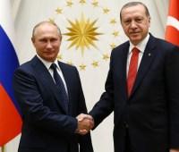 Путин и Эрдоган обсудили обострение ситуации в Сирии и кризис в Боснии