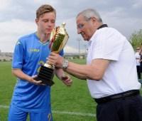 Юношеская сборная Украины стала триумфатором международного футбольного турнира