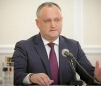Додон опасается прекращения транзита российского газа через Украину