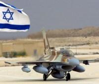 Израильские истребители нанесли авиаудары по военным целям в секторе Газа