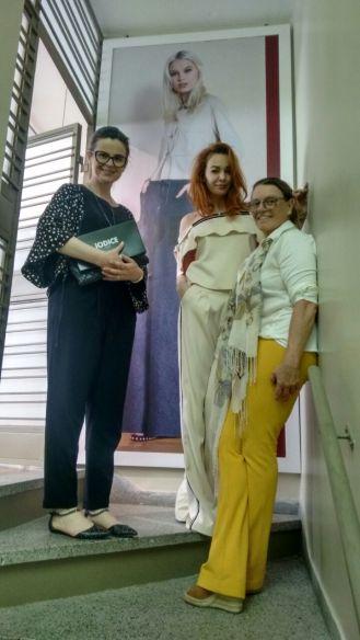 Showroom Inverno '17 com a Maria Helena e a modelo