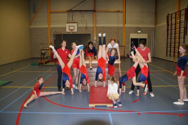 Meisjes recreatie turnen