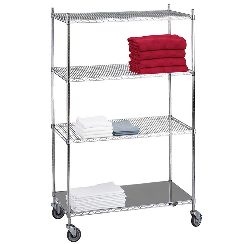 Chrome Wire Shelving Covers
