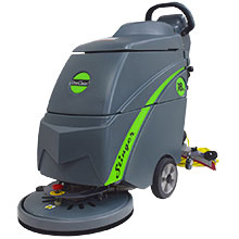 Small Area Floor   Tile Scrubbers  Tiled Floor Scrubbing Machines     18 Inch Electric Automatic Floor Scrubber UNO 18FSE