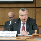 Unity of action needed against drug challenges, says UNODC Chief at launch of report on illicit drugs. Photo: UNODC