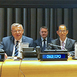 Crime flourishes during periods of conflict and instability, says UNODC Chief at New York meeting. Image: UNODC