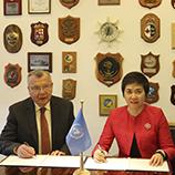 L'ONUDC et l'OACI signent un partenariat pour renforcer la sécurité des aéroports contre le crime et les menaces terroristes. Photo: ONUDC