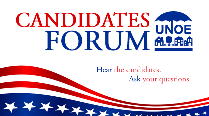 Candidates Forum – UNOE September General Meeting