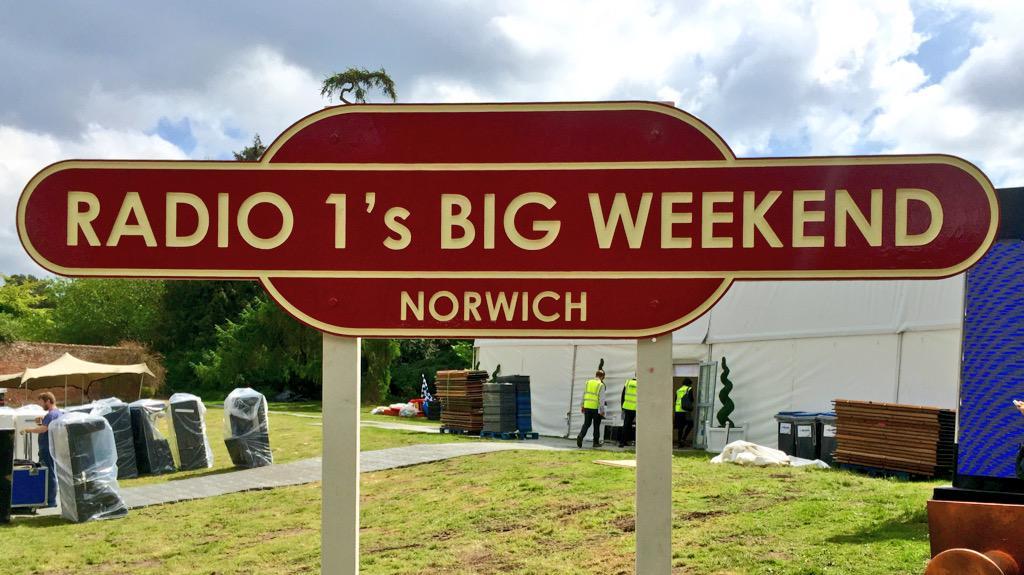 Unofficial Mills goes behind the scenes at Big Weekend