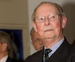 Visite S.A.R. le Grand-Duc Jean et S.A.R. le Prince Guillaume au Home Scouts à Strassen