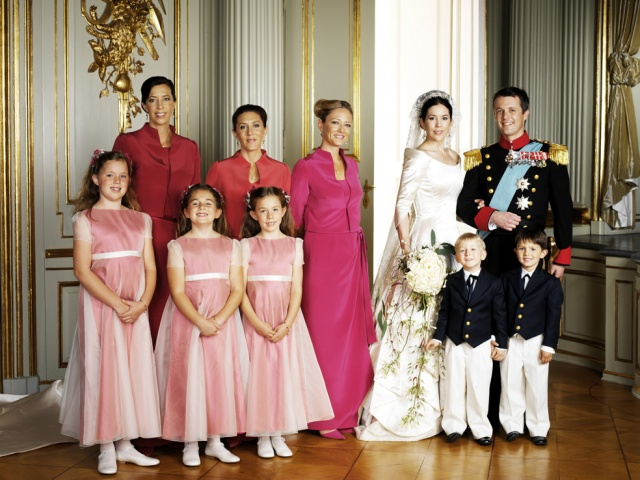Wedding of Crown Prince Frederik of Denmark and Mary Donaldson ...