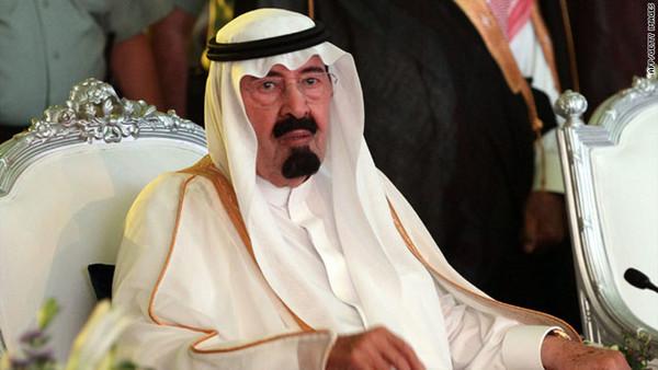 King Abdullah of Saudi Arabia ...