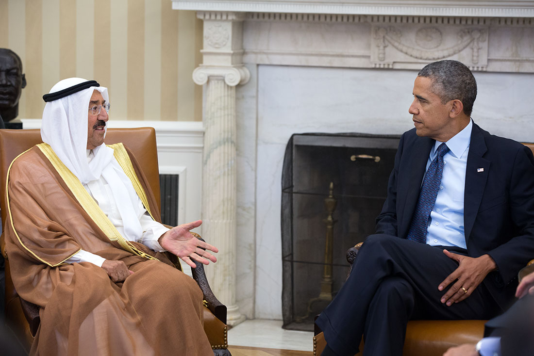 other current monarchies unofficial royalty page  sabah iv bin ahmad al sabah emir of meets president barack obama at the white house in 2013 photo credit whitehouse gov