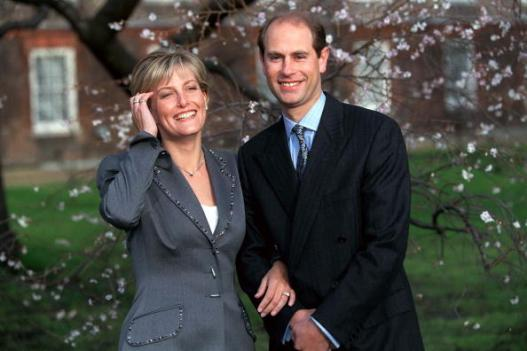 Prince Edward Sophie Engagement