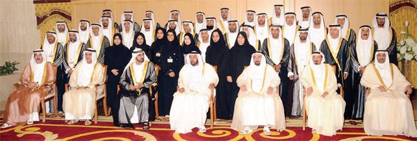 The Rulers Of United Arab Emirates 2011 Photo Khaleej Times