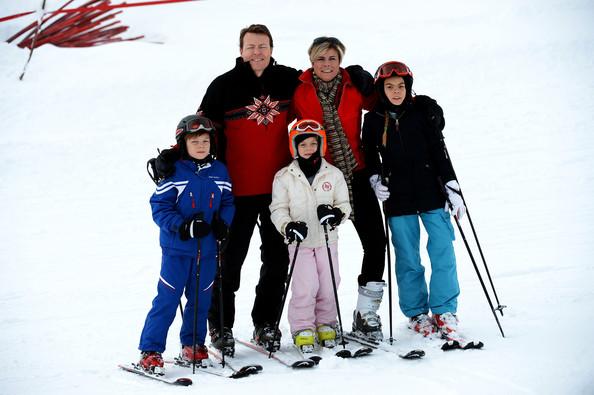 Prince Constantijn and his family, 2014. photo: Zimbio