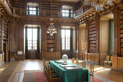 The Bernadotte Library. source: Swedish Royal Court