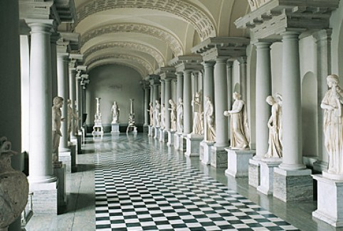 Gustav III's Museum of Antiquities, source: Swedish Royal Court
