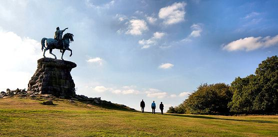 The Copper Horse, Windsor Great Park. source: The Crown Estate