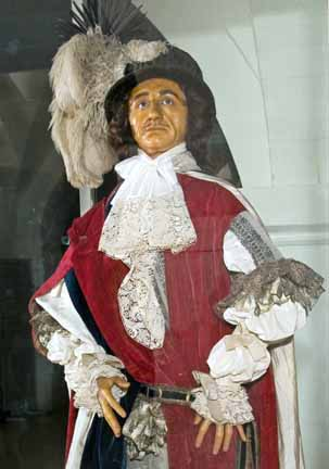 Wax effigy of Charles II, Westminster Abbey Museum