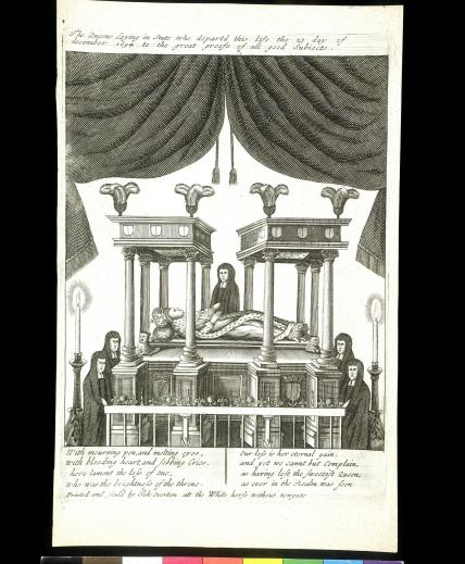 Mary II lying in state