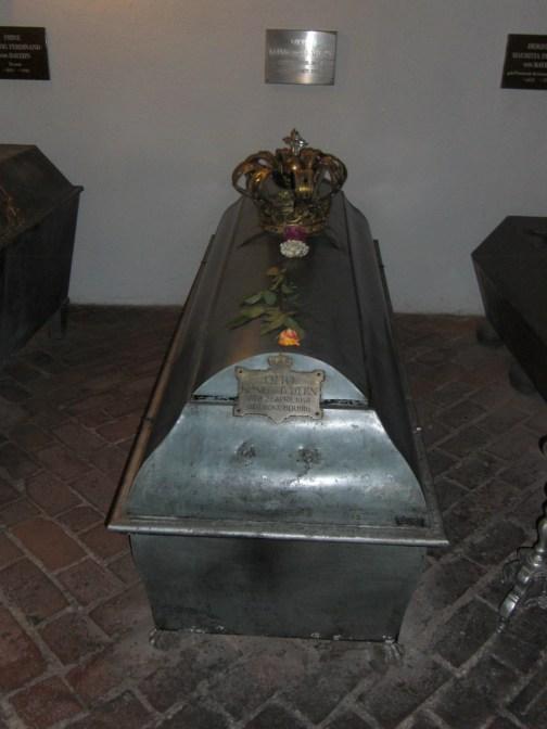 Coffin of King Otto of Bavaria. photo © Susan Flantzer