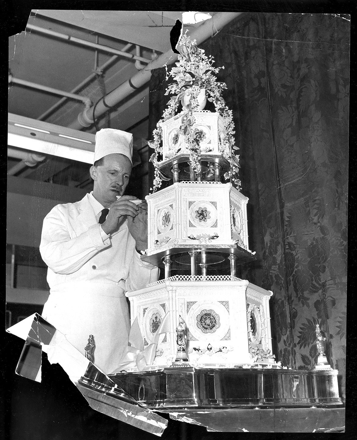 British Royal Wedding Cakes: Wedding Of Princess Margaret Of The United Kingdom And