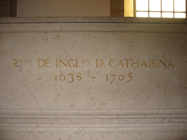 Catherine of Braganza tomb | Unofficial Royalty