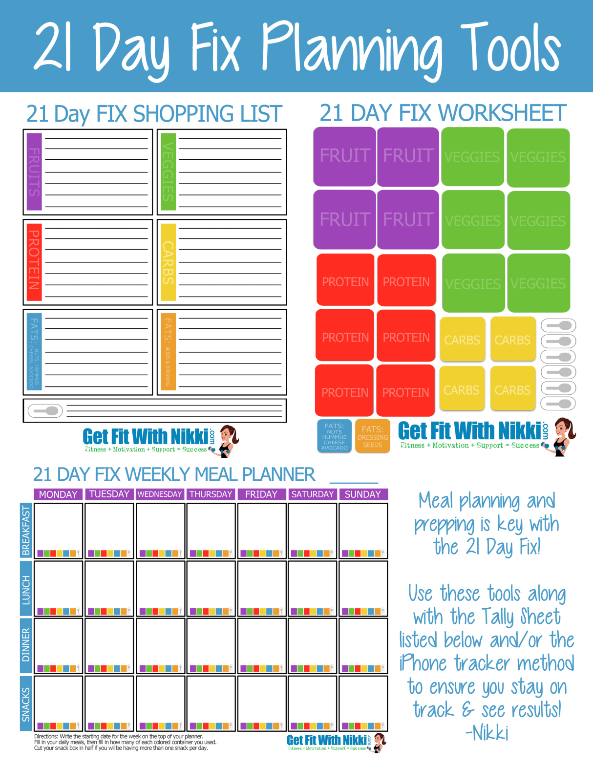 21 Day Fix Meal Planning Tips Amp My Favorite Foods