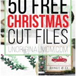 50 Free Christmas Cut Files For Silhouette And Cricut