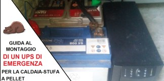 batterie UPS stufa a pellet