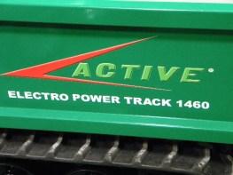 Power Track 1460 Electro Active EIMA 2018
