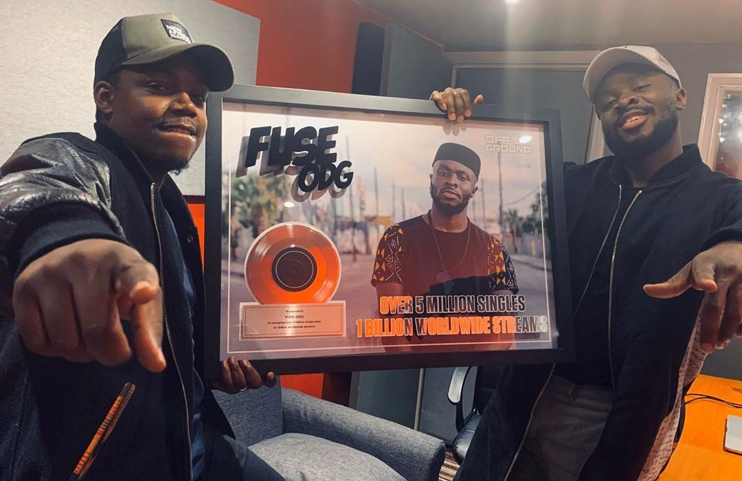 Fuse ODG Hits 1 Billion Streams Across Platforms Worldwide and For Selling 5 Million Singles