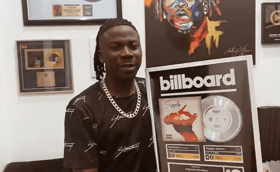 Billboard Recognizes Stonebwoy's Contributions Towards Sizzla Kalonji's Chart-Topping Album