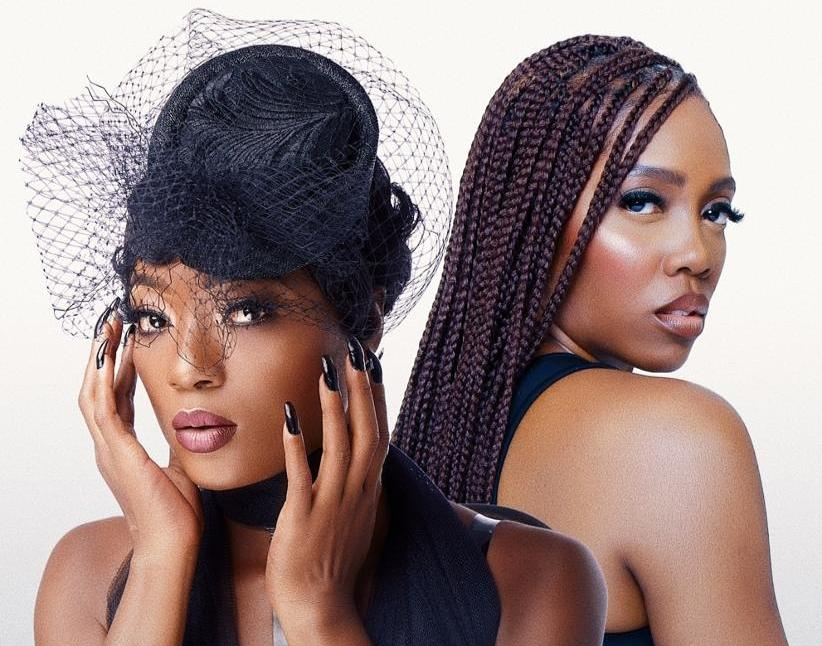 "West African Divas Efya & Tiwa Savage Connect on Alluring Love-duet ""The One"""