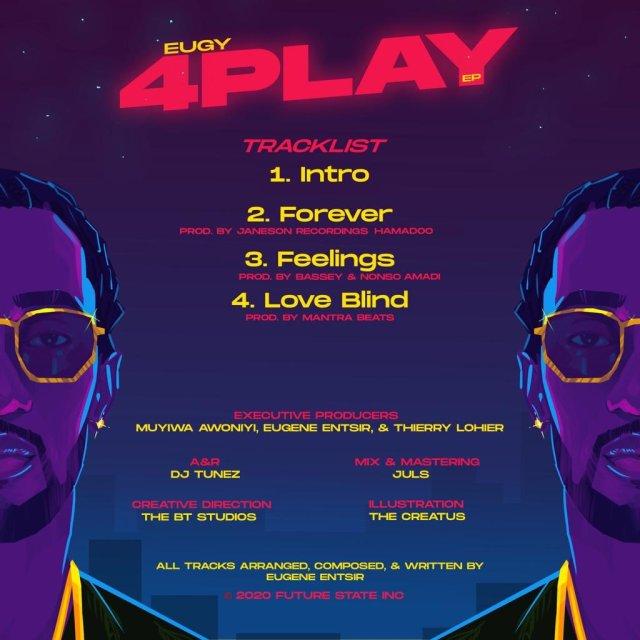 Eugy 4play EP tracklist