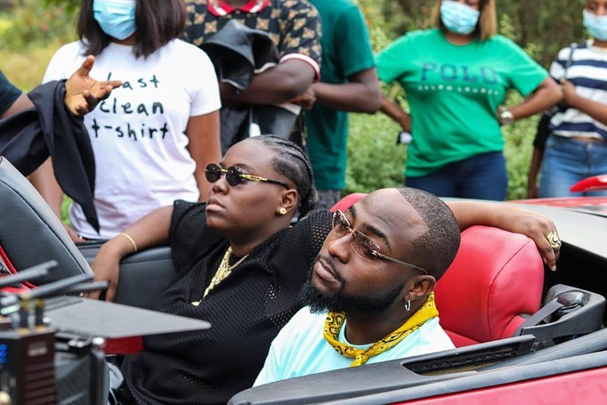 """Davido Risks It All For Teni The Entertainer in Cinematic Visuals for New Single """"For You"""""""