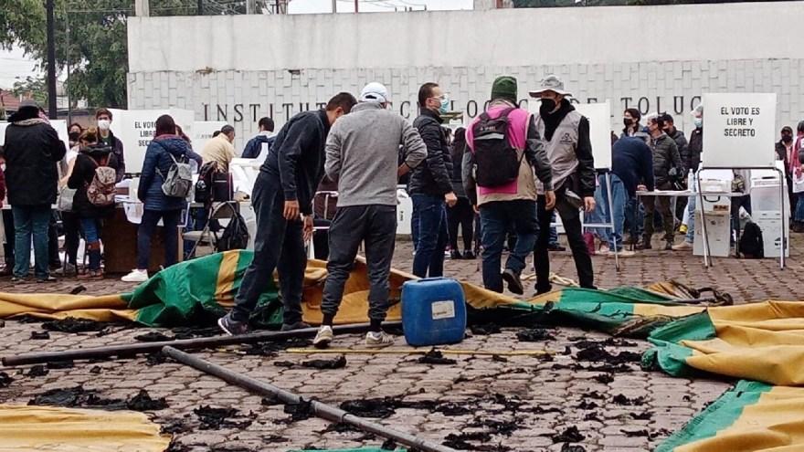 Elecciones México 2021: Se registran disturbios en Metepec, Edomex - Uno TV