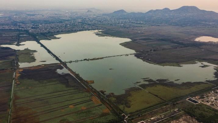 Lago Tláhuac-Xico se seca poco a poco por la acción humana
