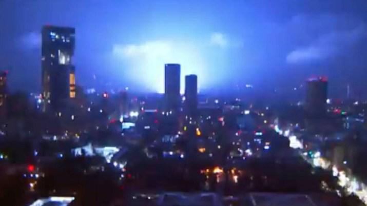 luces sismo triboluminiscencia