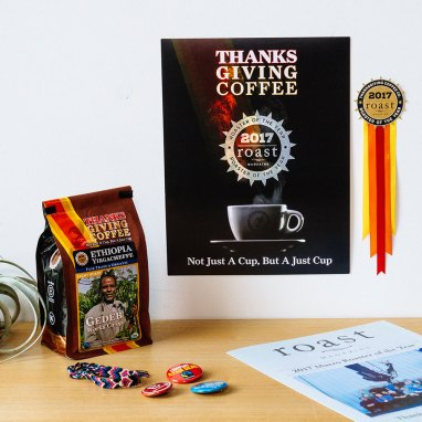 Thanksgiving Coffee swag with Roaster Magazine