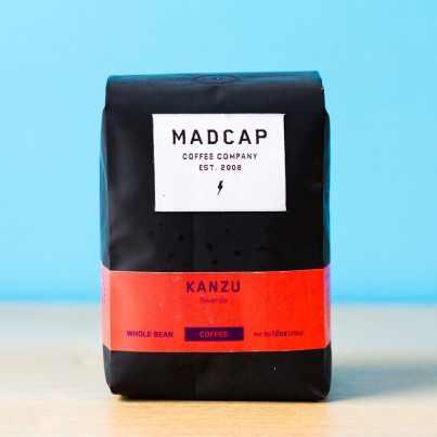Madcap Coffee Company Kanzu Rwanda coffee