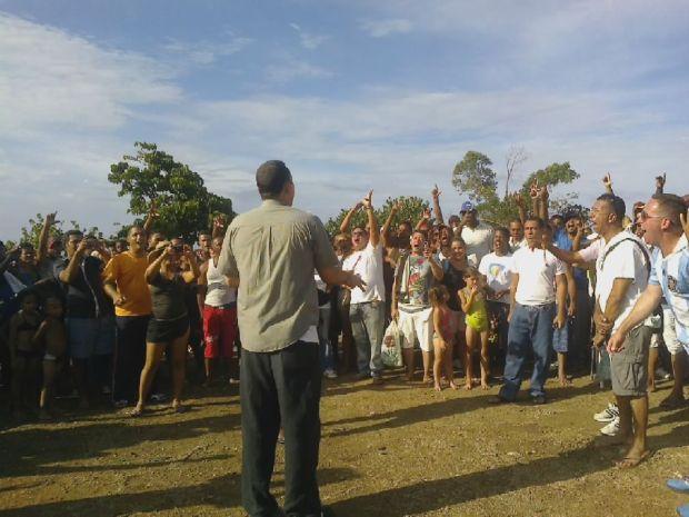 Reunión de UNPACU en Santiago de Cuba 2 de agosto de 2014