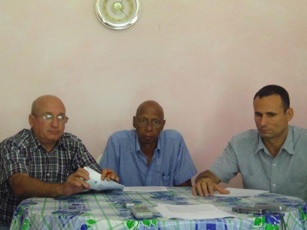 Felix Navarro, Guillermo Fariñas y Jose Daniel Ferrer