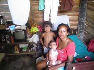Mariana Peñas, madre soltera