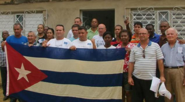 Foto de familia de la 1ra Reunión del Secretariado Nacional