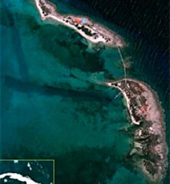 La isla privada de Cayo Piedra, propiedad de Fidel Castro