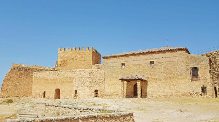 Laguras de Ruidera_Castillo de Peñarroya
