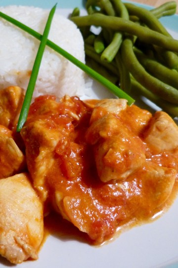 Curry poulet coco