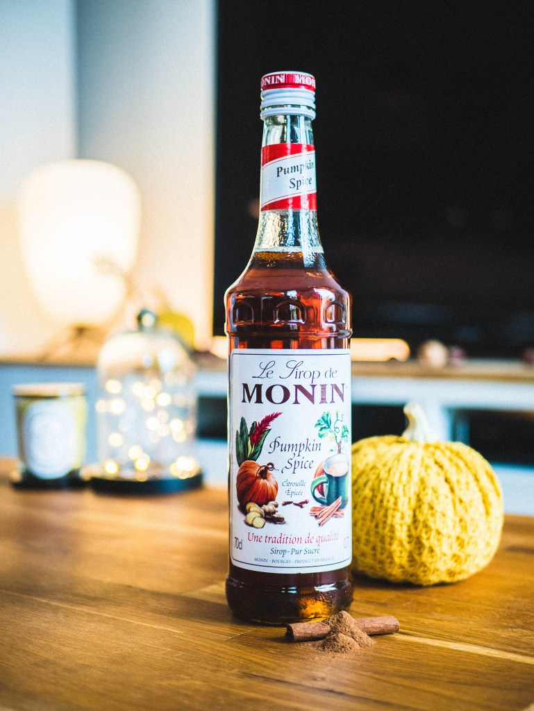 Sirop Monin Pumpkin Spice Latte